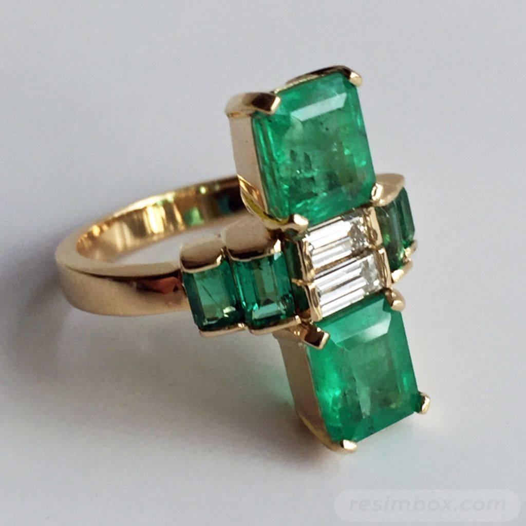 Art deco engagement ring-739434832549432059