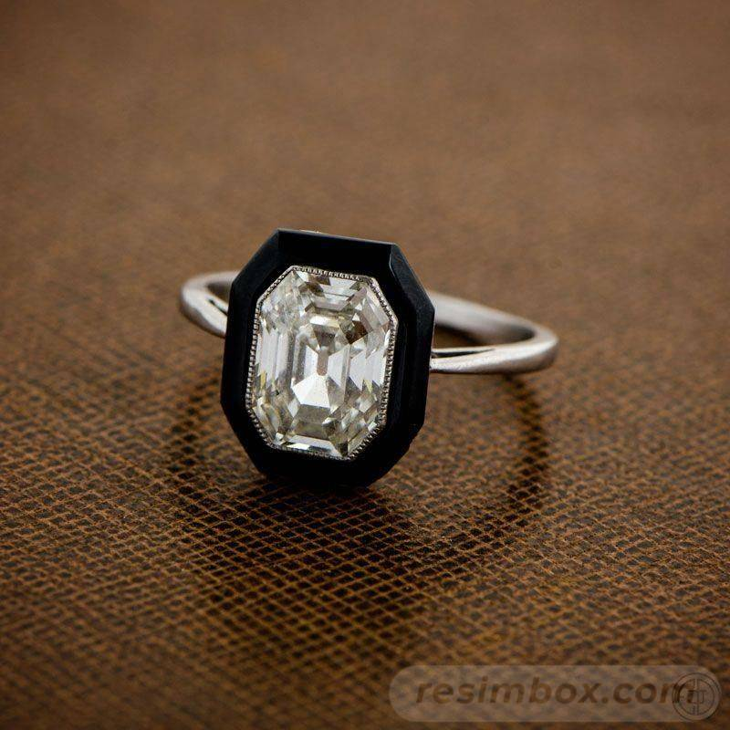 Art deco engagement ring-603060206334102862