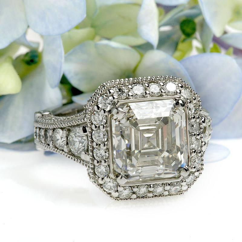 Art deco engagement ring-464293042833611700