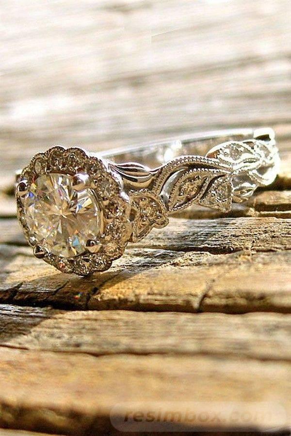 Art deco engagement ring-230387337175768638