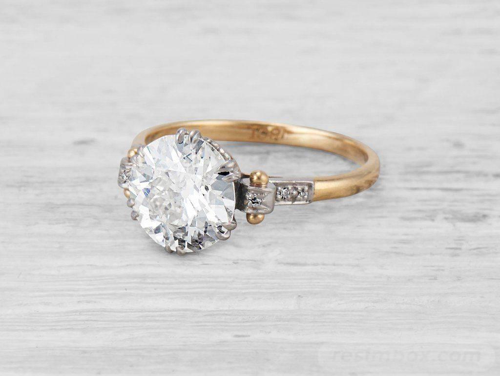Art deco engagement ring-22306960641222945