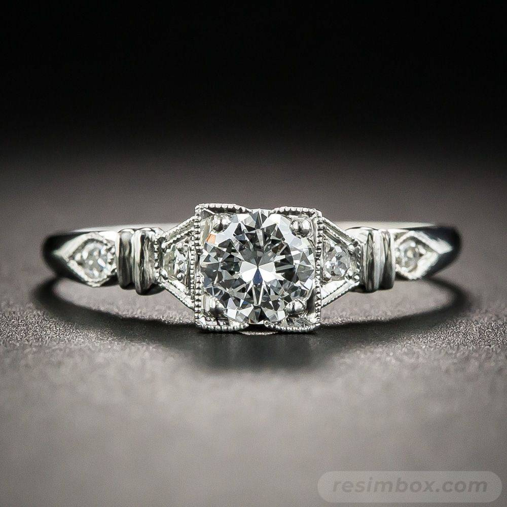 Art deco engagement ring-69735494215684761