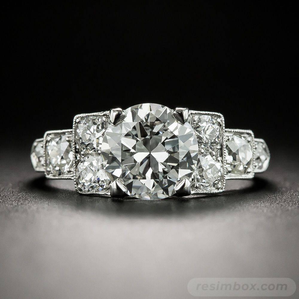 Art deco engagement ring-69735494216798607