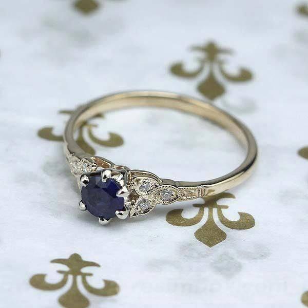 Art deco engagement ring-170151692157104810