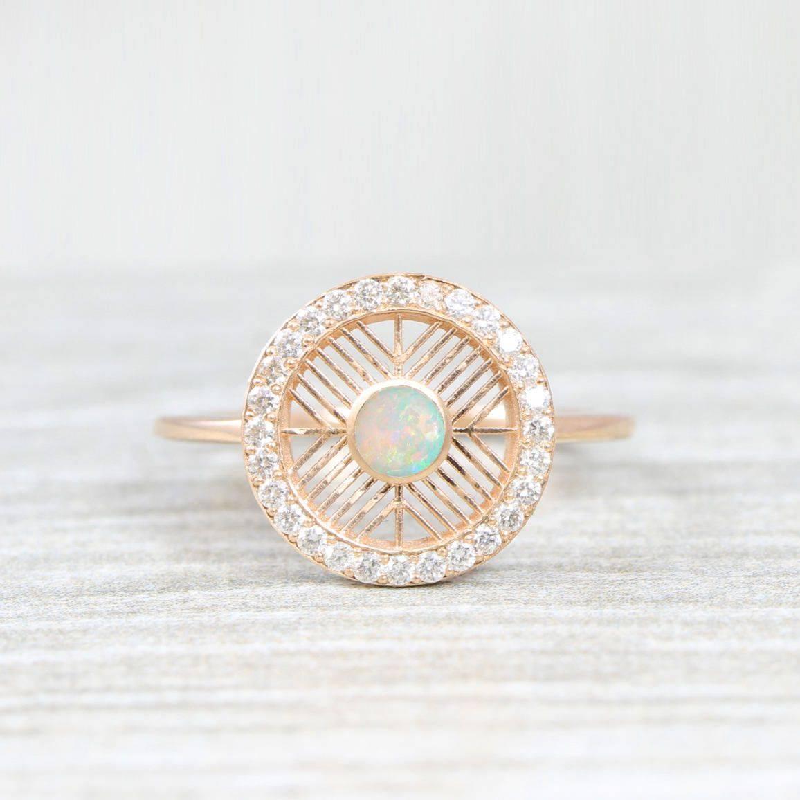 Art deco engagement ring-471118811020017604