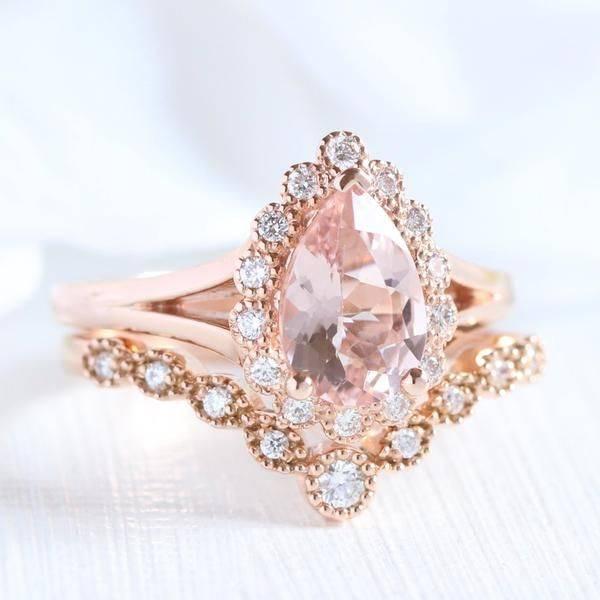 Art deco engagement ring-542120873894065108
