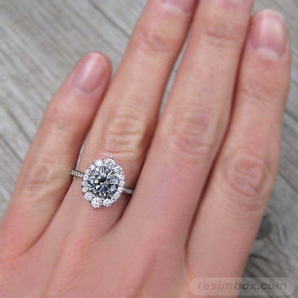 Art deco engagement ring-410531322284452381
