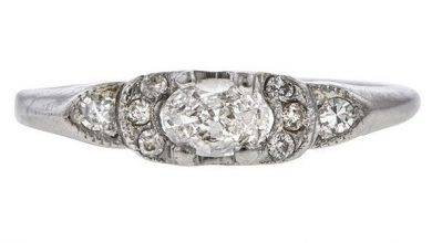 Photo of 27 Remarkably Art Deco Engagement Rings