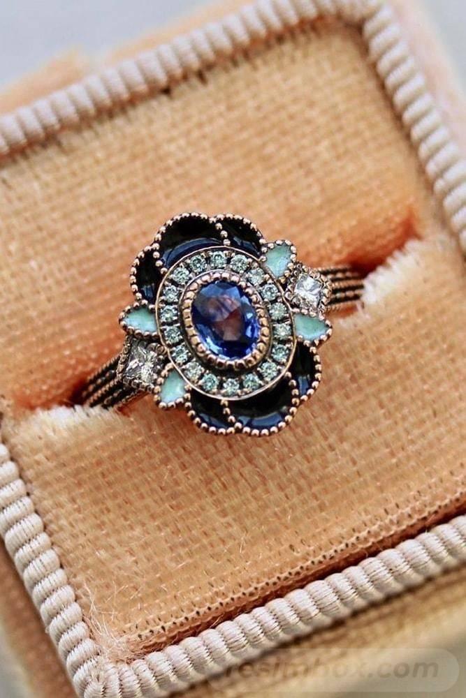 Art deco engagement ring-59391288822233937