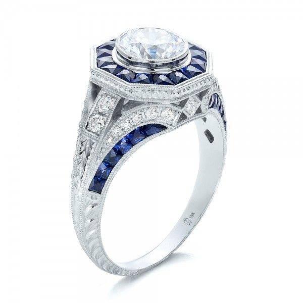 Art deco engagement ring-505599495638127374