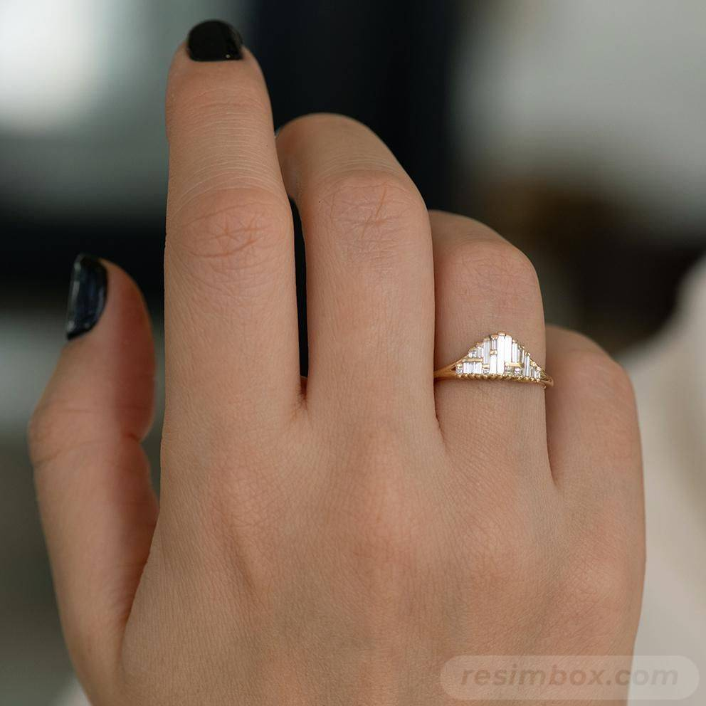 Art deco engagement ring-3096293481754114