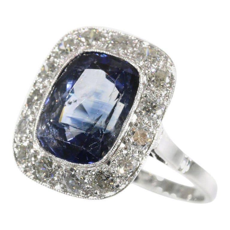 Art deco engagement ring-97108935705996666