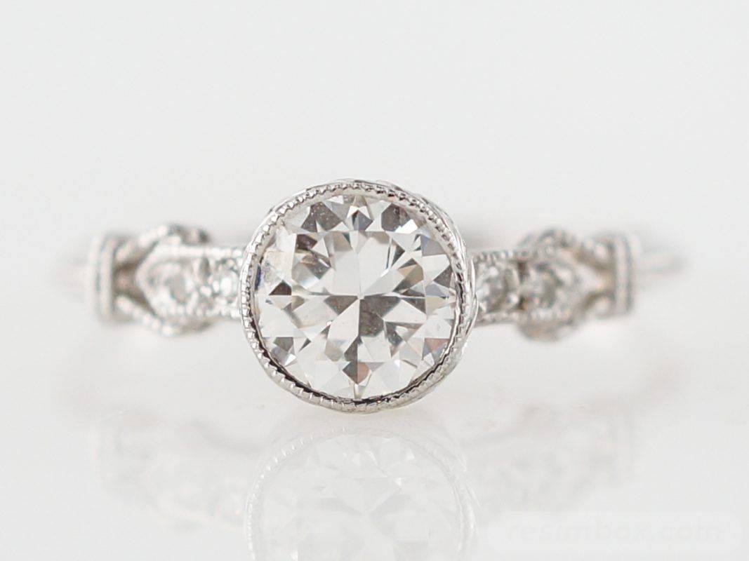 Art deco engagement ring-317011261270622646