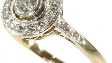 Photo of 28 Beautiful Art Deco Engagement Rings