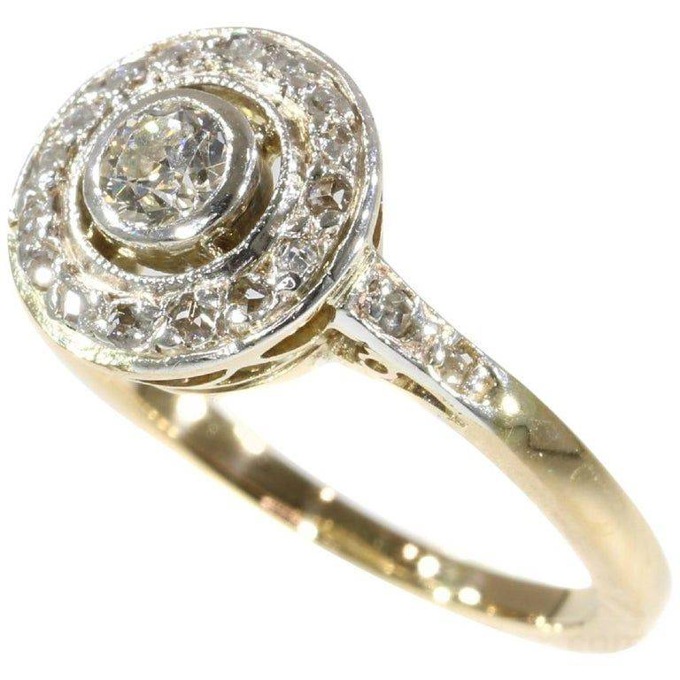 Art deco engagement ring-97108935705189702