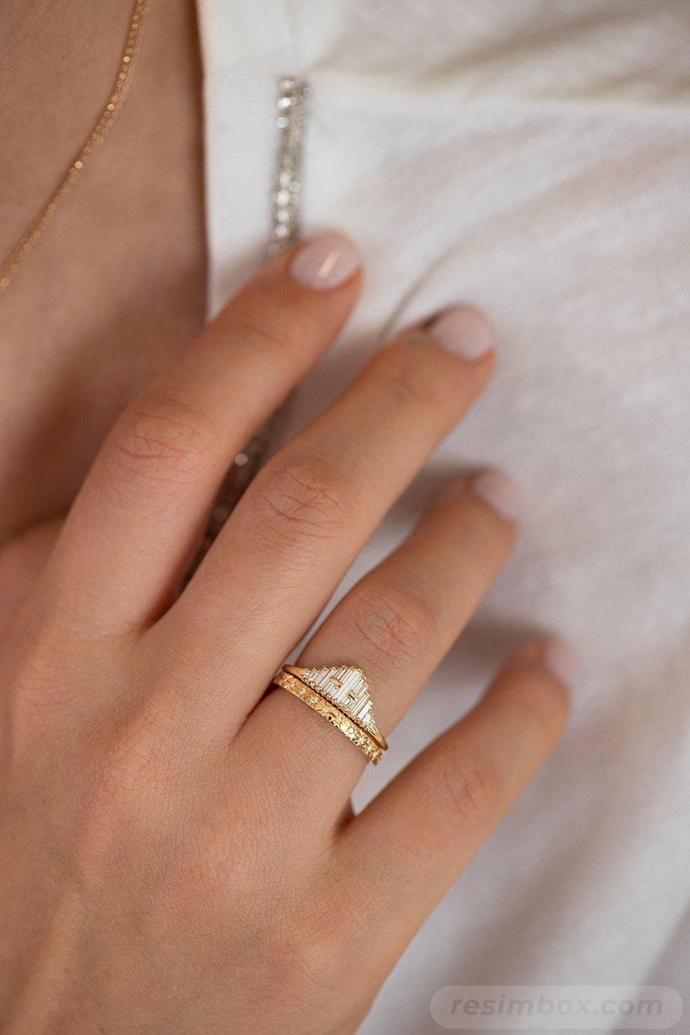 Art deco engagement ring-531143349805140639