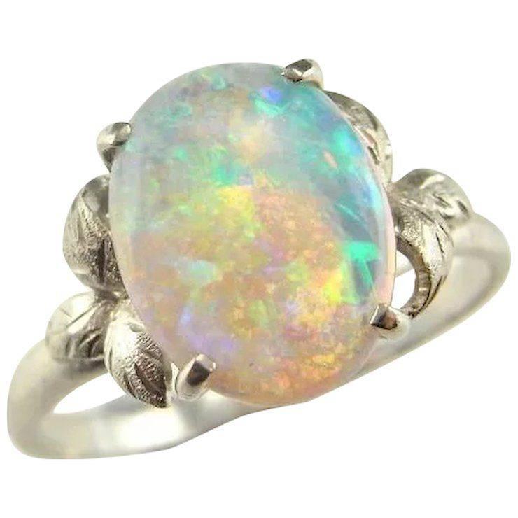 Art deco engagement ring-267119821634970108