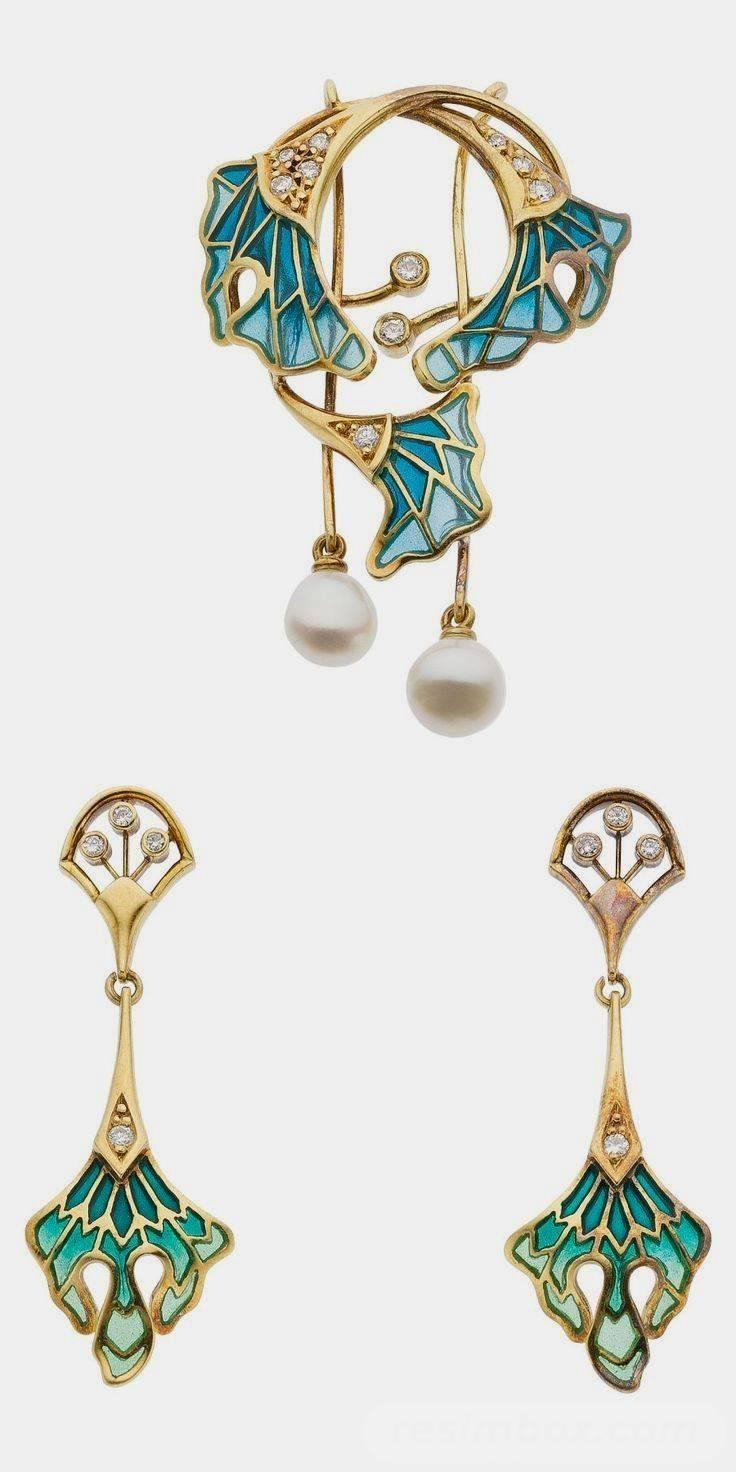 Art deco jewelry-111393790770874557