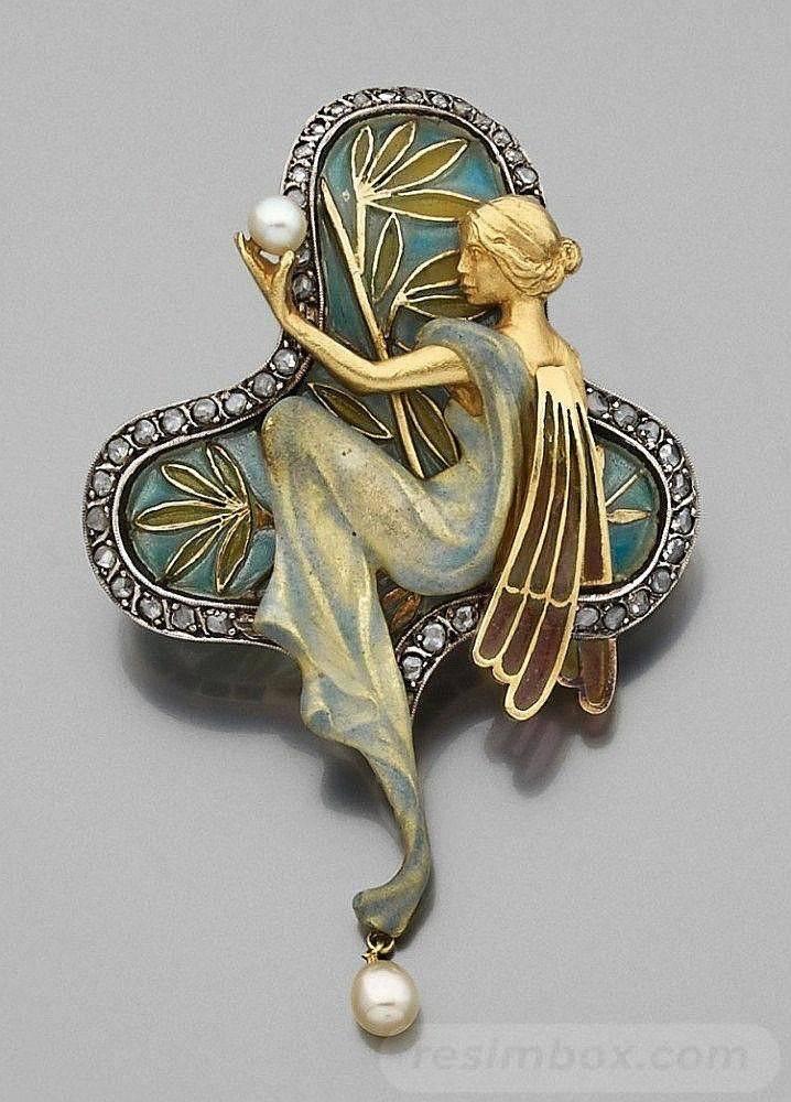 Art deco jewelry-692287773952593499