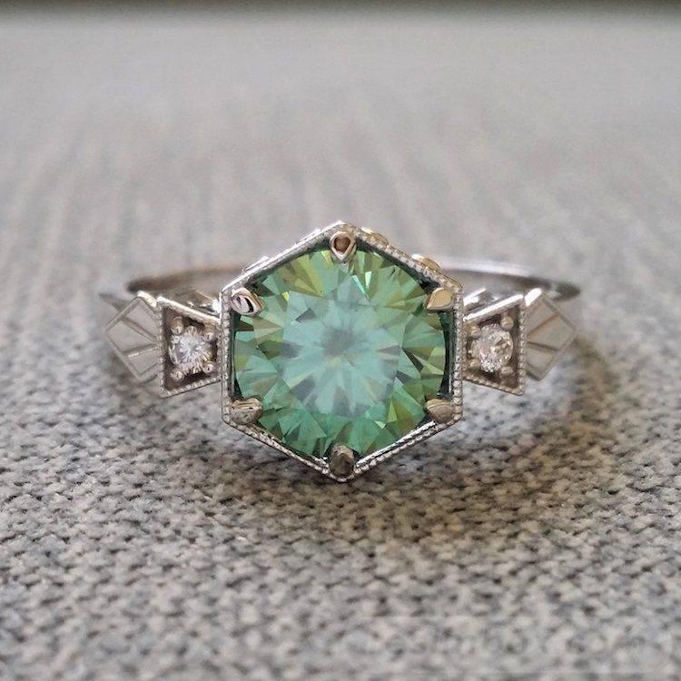 Art deco engagement ring-75646468728804446
