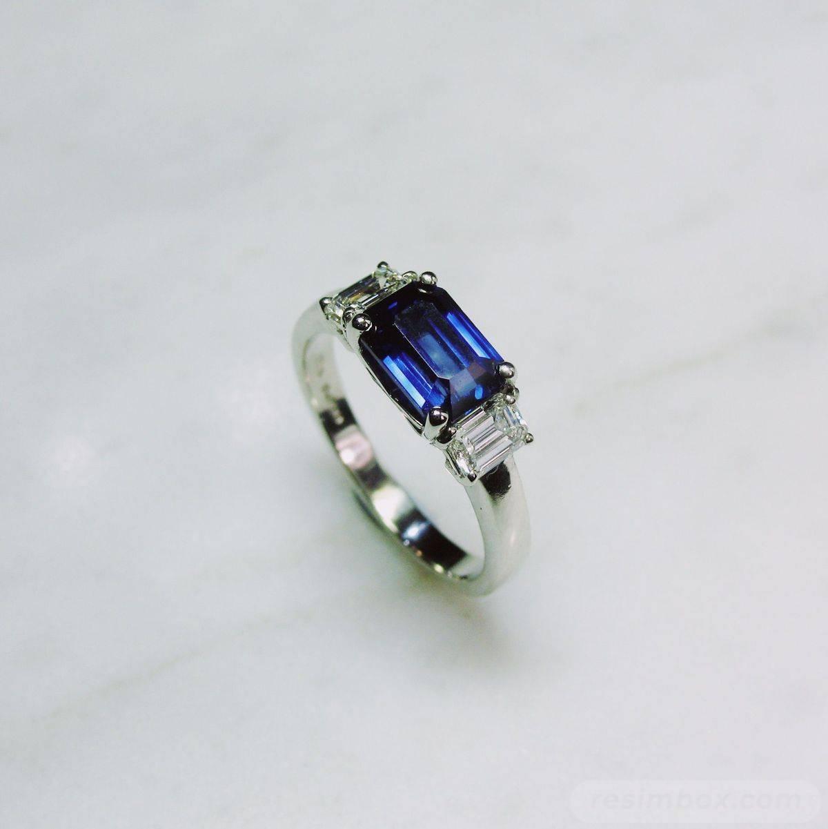 Art deco engagement ring-357121445451046649