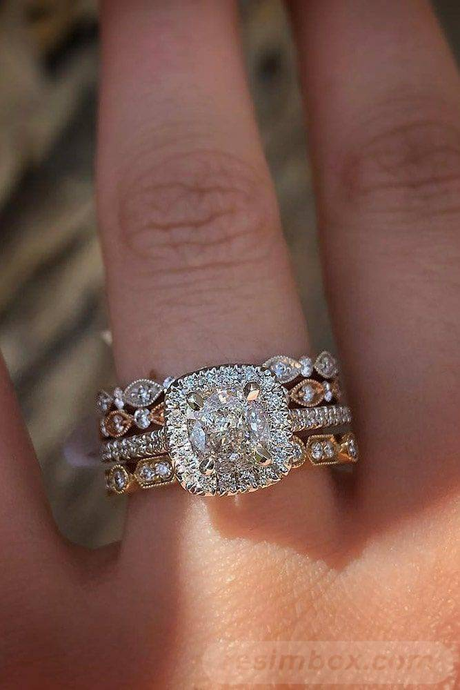 Art deco engagement ring-511299363943223444