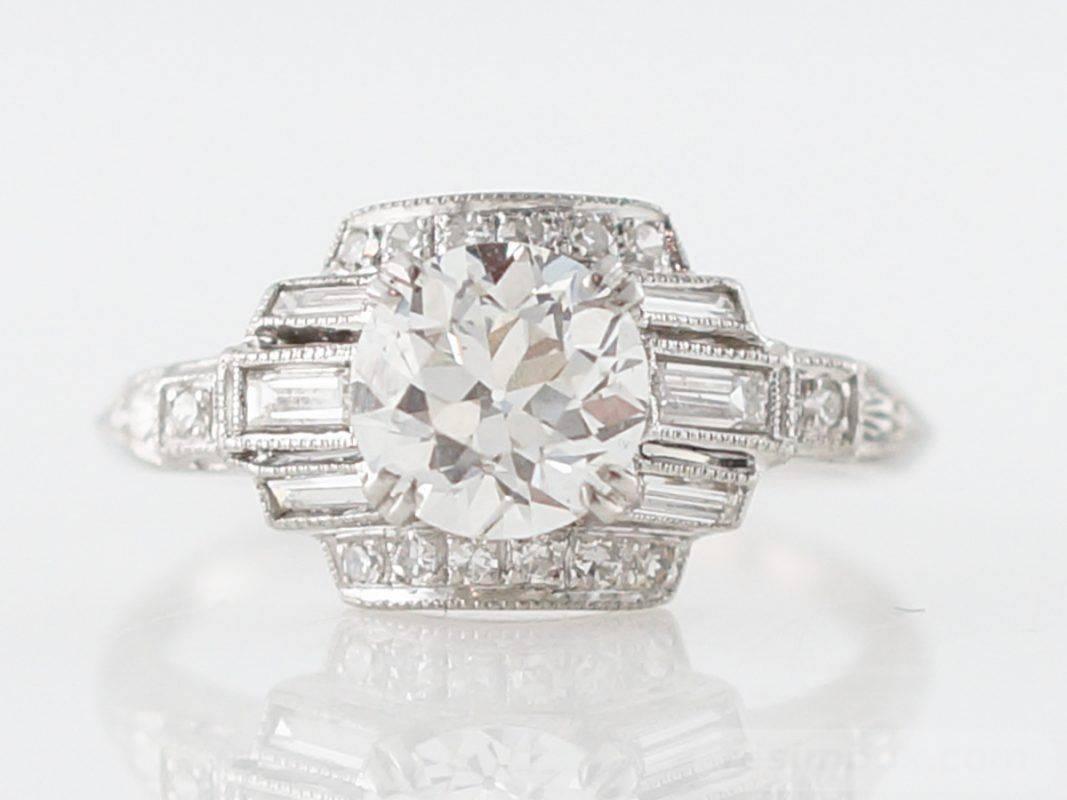Art deco engagement ring-206039751689069556