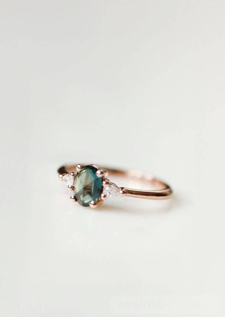 Art deco engagement ring-162481499043840253