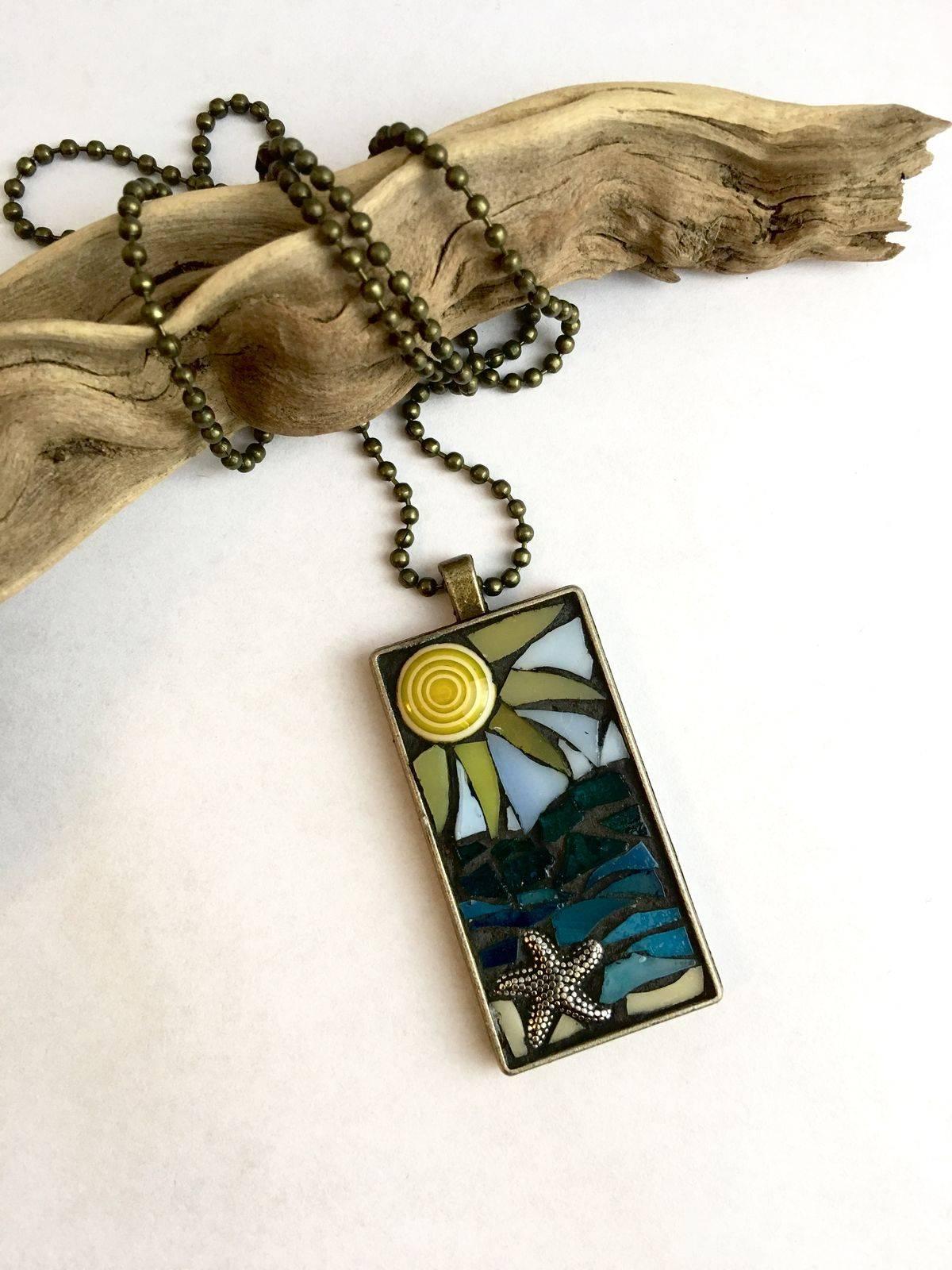 Beach glass jewelry-802485227328838308
