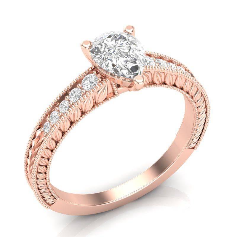Art deco engagement ring-583216220471078074