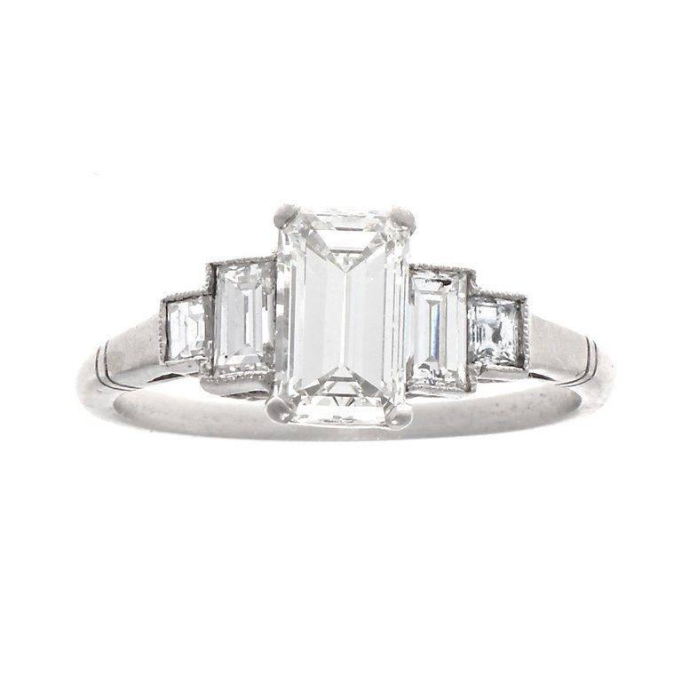 Art deco engagement ring-210121138851538867