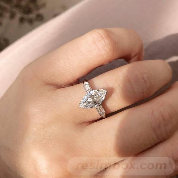 Art deco engagement ring-431078995580971221