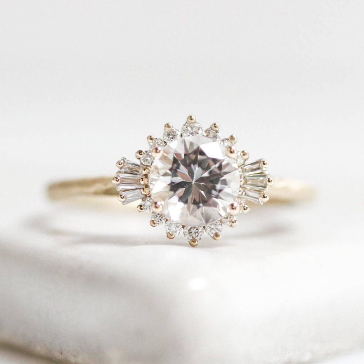 Art deco engagement ring-173599760623378322