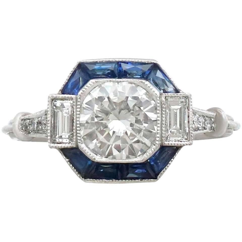 Art deco engagement ring-680184349950303633