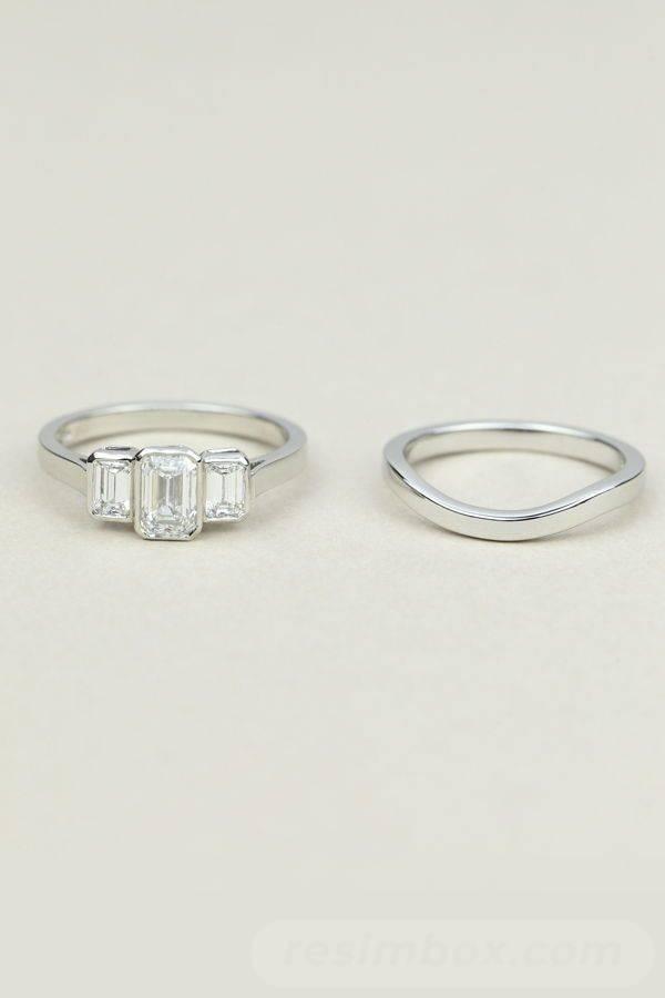 Art deco engagement ring-33143747244414800