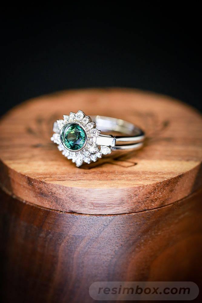 Art deco engagement ring-440578776047202637