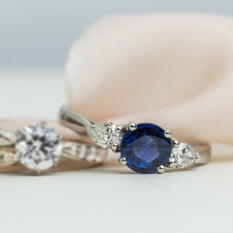 Art deco engagement ring-719239002967343218