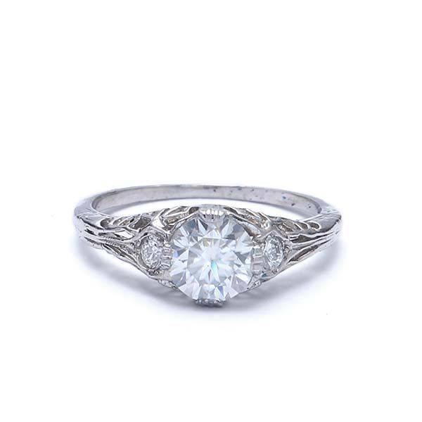 Art deco engagement ring-290693350947826122