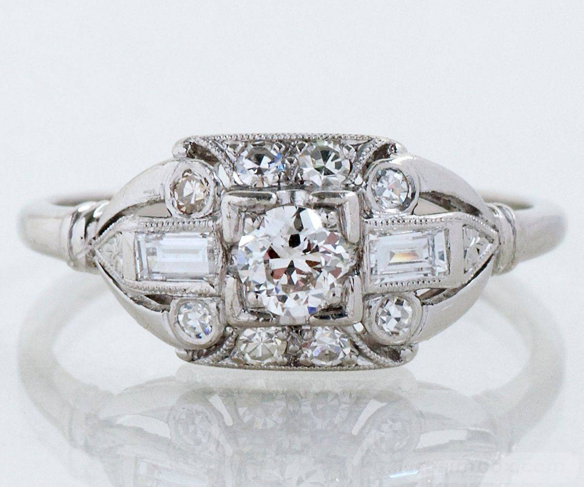 Art deco engagement ring-471118811018898487