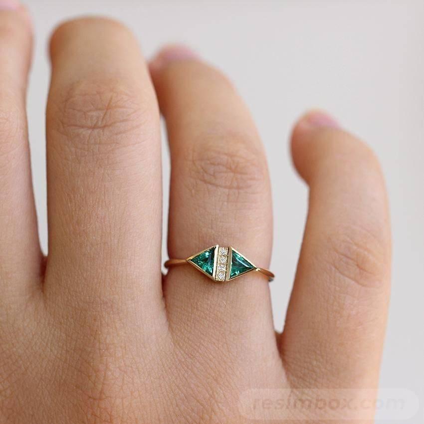 Art deco engagement ring-700169073300721003