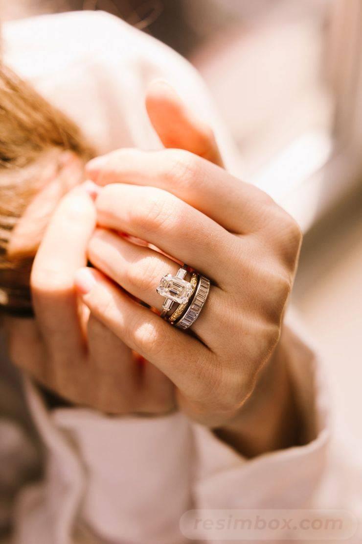 Art deco engagement ring-382594930842532498