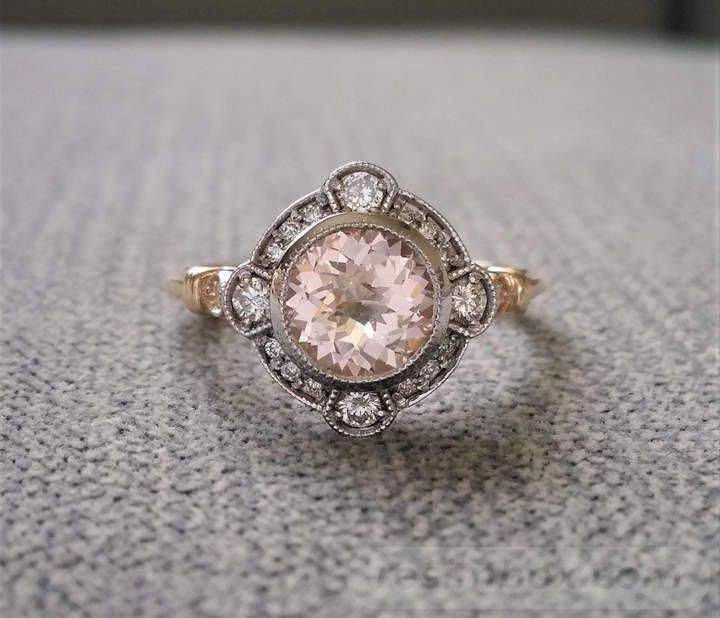 Art deco engagement ring-679691768741957175