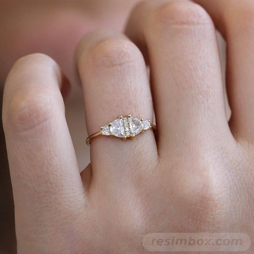 Art deco engagement ring-706361522786879050