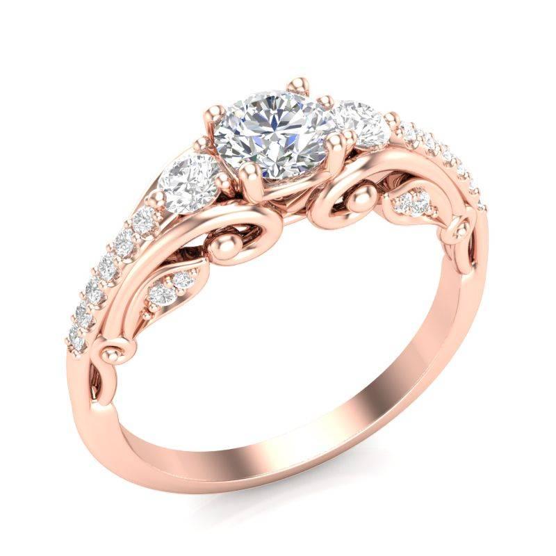 Art deco engagement ring-583216220471077771