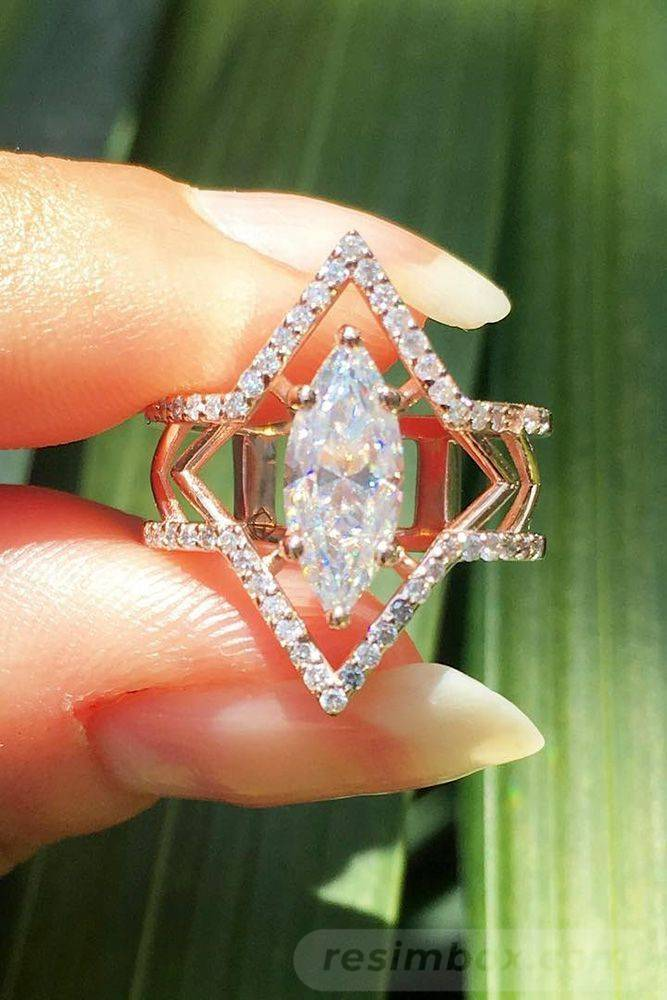 Art deco engagement ring-847169379884294786