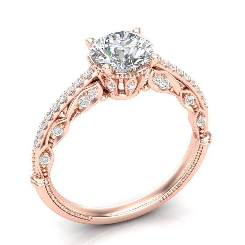 Art deco engagement ring-783978247614790173