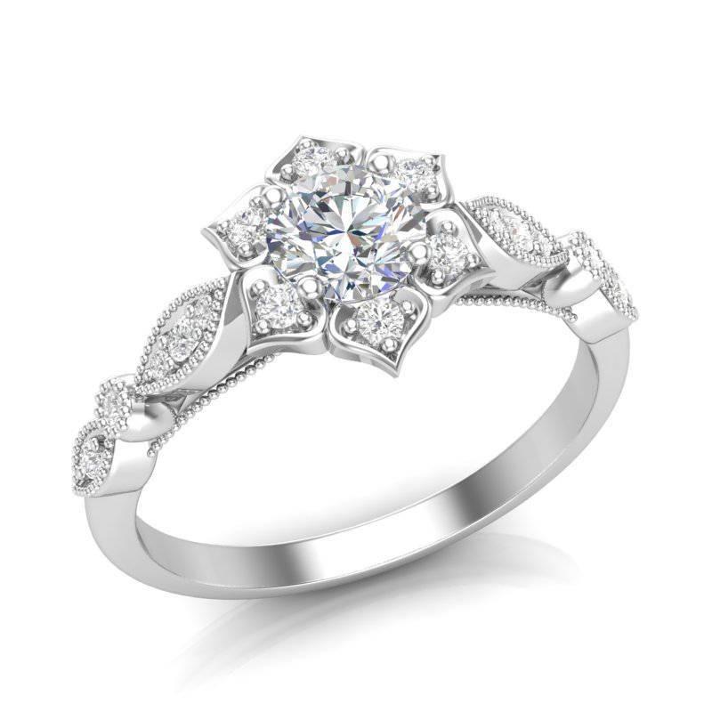 Art deco engagement ring-471118811018696878