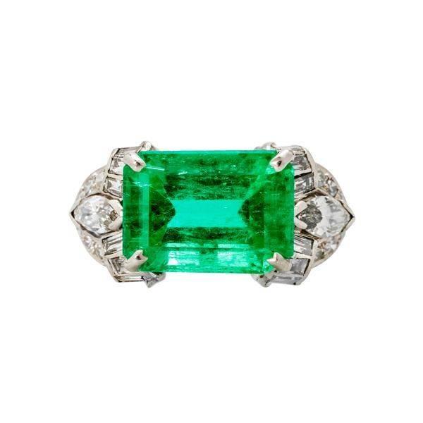 Art deco engagement ring-331225747592614002