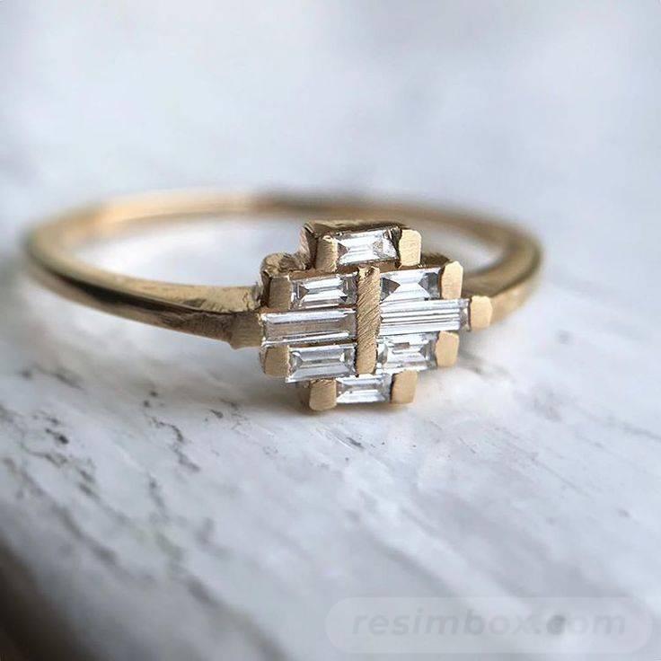 Art deco engagement ring-51932201940178716