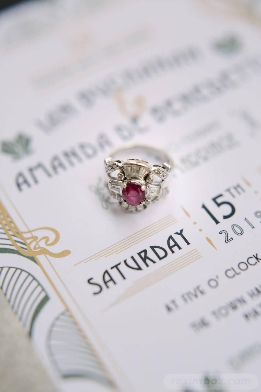 Art deco engagement ring-204702745548808540
